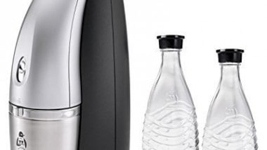 Review: SodaStream Penguin Earth Friendly Glass Carafe Soda Maker